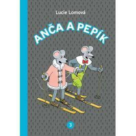 Lomová Lucie: Anča a Pepík 3 - komiks