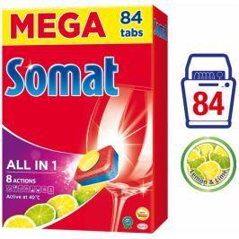 Somat All-in-One Lemon & Lime tablety do myčky 84 ks