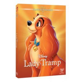 Lady a Tramp DE (Edice Disney klasické pohádky)   - DVD
