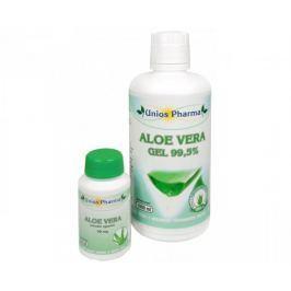 Unios Pharma Aloe vera gel 99,5% 1 l + Aloe vera 60 kapslí ZDARMA