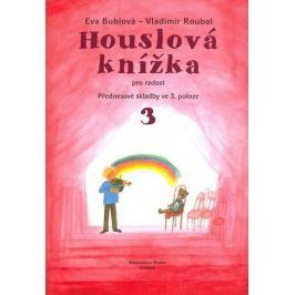KN Houslová knížka pro radost - Přednesové skladby ve 3. poloze 3 - klavírní doprovody Škola hry na housle
