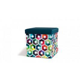 Taburetka s víkem Hexagon