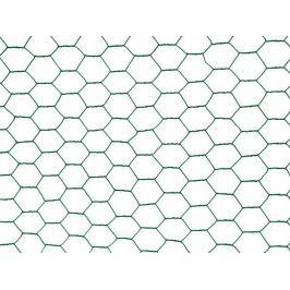Chovatelské šestihranné pletivo Zn+PVC 25 mm - výška 50 cm, role 10 m
