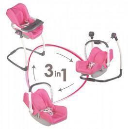 Smoby 3v1 Autosedačka a židlička Maxi Cosi