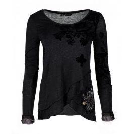 Desigual dámské tričko Edi S černá