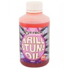 Bait-Tech Tekutý olej krill tuna 500 ml