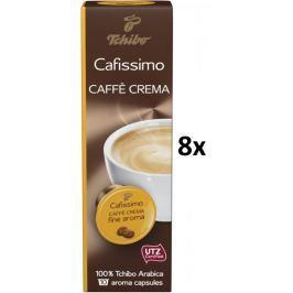 Tchibo Cafissimo Caffé Crema Fine Aroma, 8x10 kapslí