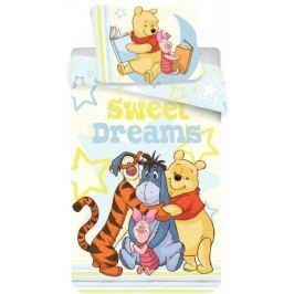 Jerry Fabrics Povlečení bavlna Medvídek Pú sweet 140x200 70x90