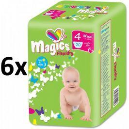 Magics Flexidry Maxi (7-18kg) Megapack - 120 ks