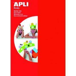 Pěnovka APLI 200x300x2 mm červená/5 listů