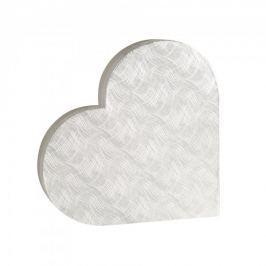 Dárková krabice Lenka 1, stříbrné vlnky - 38x34x5,8 cm