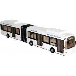 Mac Toys Autobus kloubový 1:48 bílý
