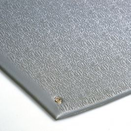 Šedá antistatická ESD protiúnavová průmyslová rohož - 90 x 60 x 0,9 cm