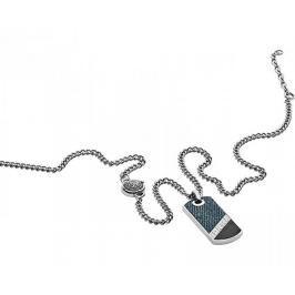 Diesel Pánský náhrdelník se známkou DX1030040