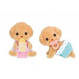 Sylvanian Families Baby pudlí dvojčata