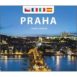 Sváček Libor: Praha - malá/česky, francouzsky, italsky, španělsky
