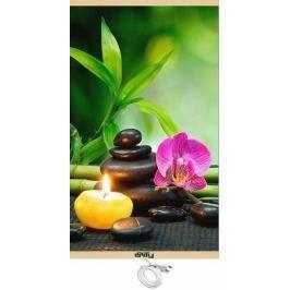 Unity Energeticky úsporný topný infrapanel - orchidej - II. jakost