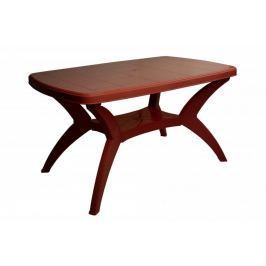 MEGA PLAST MODELLO MP467 Stůl velký bordó