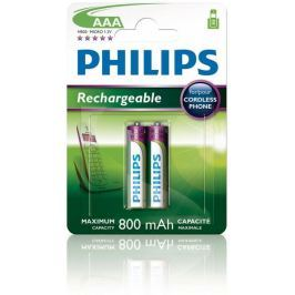 Philips AAA 2ks 800mAh Rechargeables (R03B2A80/10)