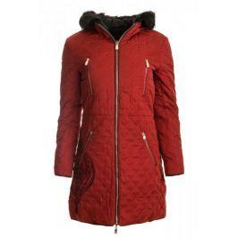 Desigual dámský kabát Azul 36 červená