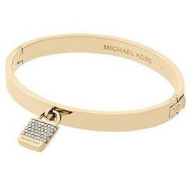 Michael Kors Zlatý náramek s krystaly a přívěskem MKJ6355710