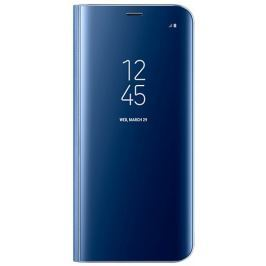 Samsung Kryt Clear View Standing Cover (Samsung Galaxy S8), modrá