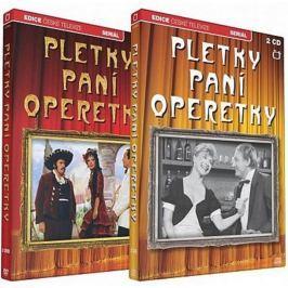 Pletky paní operetky (3DVD + 2CD)   - DVD