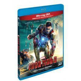 Iron Man 3.   3D+2D  (2 disky)   - Blu-ray