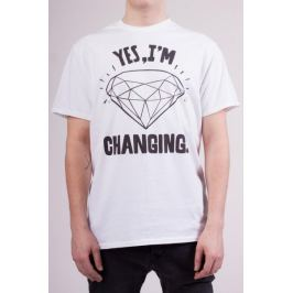 KlokArt pánské tričko S bílá