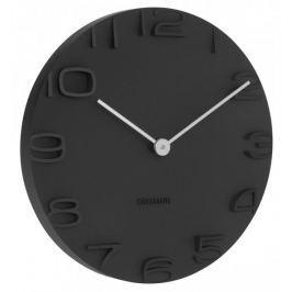 Karlsson Nástěnné hodiny KA5311 černá