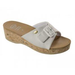 Scholl Zdravotní obuv WAPPY Lea - bílá (Velikost vel. 39)