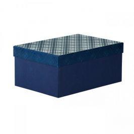 Dárková krabice Bety 2, tmavě modrá - 30,5x21,x13,5cm