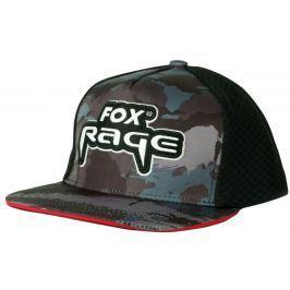 FOX RAGE Kšiltovka Camo Flat Peak Baseball Cap