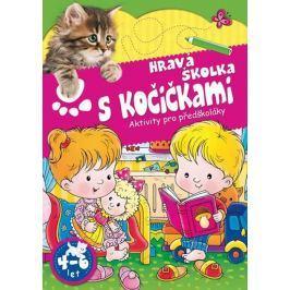 Hravá školka s kočičkami - Aktivity pro předškoláky