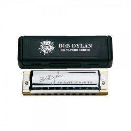 Hohner Bob Dylan Signature Series C / in magnetic cardboard box Signature foukací harmonika