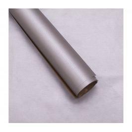 Balicí papír, natura, stříbrný, 5 archů