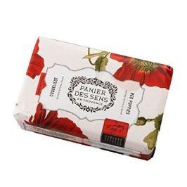 Panier des Sens Extra jemné přírodní mýdlo s bambuckým máslem Mák (Extra Gentle Soap) 200 g