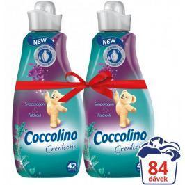 Coccolino Creations Snapdragon & Patchouli aviváž 2 x 1,5 l (84 praní)