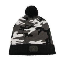 RIDGEMONKEY Kulich Camo Bobble Hat Černý
