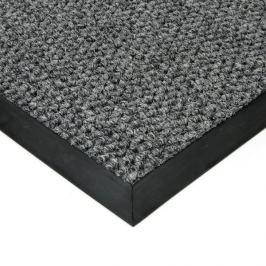 FLOMAT Šedá textilní zátěžová vstupní čistící rohož Fiona - 300 x 150 x 1,1 cm