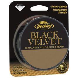 Berkley Splétaná šňůra Black Velvet 110 m black 0,08 mm, 10,1 kg
