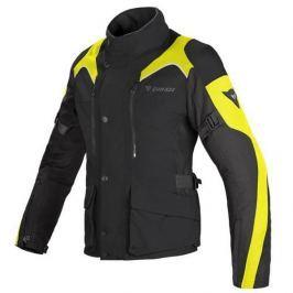 Dainese bunda dámská TEMPEST D-DRY LADY vel.46 černá/černá/fluo žlutá, textilní