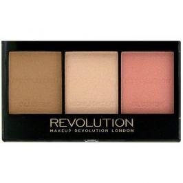 Makeup Revolution Rozjasňující konturovací sada na obličej (Ultra Brightening Contour Kit) (Odstín C04)
