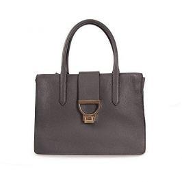 Coccinelle Luxusní kožená kabelka Coccinelle Arlettis Asphalt X05 18 01 01 053