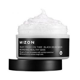 MIZON Regenerační a ozdravující výživná maska na zhrublou šupinatou pleť (Enjoy Fresh-On Time Black Bean M