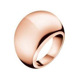Calvin Klein Bronzový prsten Ellipse KJ3QPR1001 (Obvod 57 mm)