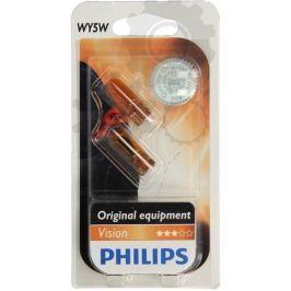Philips Žárovka typ WY5W, 12V, 5W, Orange