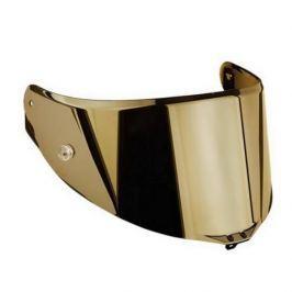 AGV plexi  GT 3-1 s přípravou pro Pinlock (vel.XXS-M), zrcadlová zlatá pro přilby  SPORTMODULAR