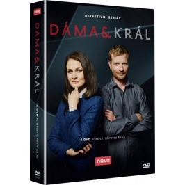 Dáma a král 1. série (4DVD)   - DVD