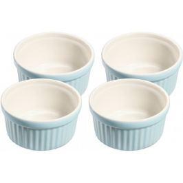 Küchenprofi Set 4 misek Ramequin modrá